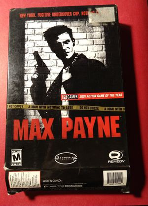Max Payne - Classic CD video game for Windows 95, 98, 2000 for Sale in Los Angeles, CA