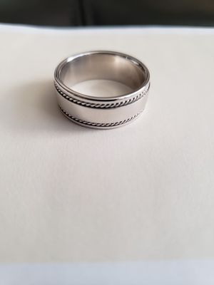 Men's Wedding Ring/Band 14k White Gold for Sale in Portland, OR
