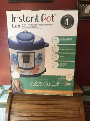 New Pioneer Woman Instant Pot for Sale in Waldo, OH