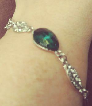 Green Austrian Crystal Bracelet for Sale in Pico Rivera, CA