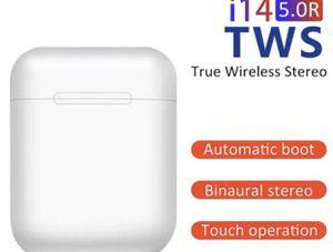 Brand new Original i14 tws Headset In-ear Wireless Bluetooth 5.0 Earphone Earbuds for Sale in West Jordan, UT