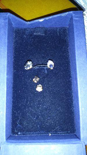 Tanzanite 14kt gold earrings new for Sale in Miami, FL