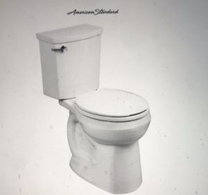 Toilet, American Standard H2Optimum Round Two-Piece Toilet with Siphon Jet Technology for Sale in Henderson, NV