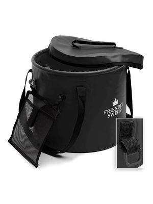 Friendly Swede 6 gal (23L) Collapsible Bucket (black) for Sale in Diamond Bar, CA