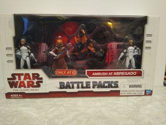 Star Wars Ambush At Abregado Battle Pack for Sale in Monterey Park, CA