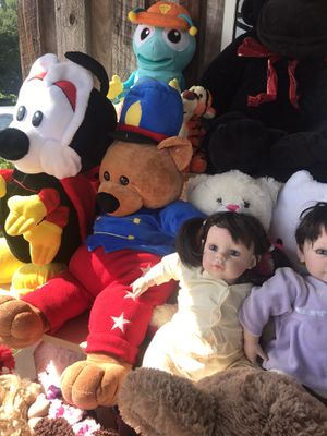 Plush Stuffed Animals & Dolls! for Sale in Savannah, GA