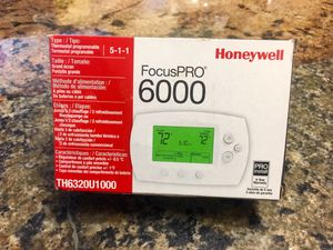 Honeywell FocusPro 6000 Thermostat for Sale in Hollywood, FL
