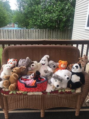 Build-a-Bear stuffed animals ans accesories for Sale in Medina, OH