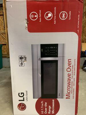 Microwave : over the range (LG brand new) for Sale in Glen Allen, VA