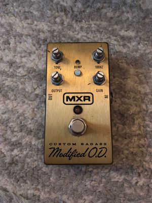 MXR M77 custom badass modified Overdrive Pedal for Sale in New York, NY