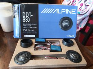 Alpine Car Tweeters for Sale in Chicago, IL
