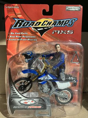 2003 Vintage MXS Road Champs Answer Racing action figure Motocross Dirtbike for Sale in Peoria, AZ