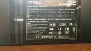 Antecedent 1000w psu for Sale in Phoenix, AZ