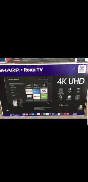 58 INCH SHARP 4K SMART TV for Sale in Chino, CA
