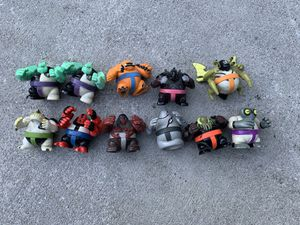 Ben 10 monsters toy action figures for Sale in Camp Hill, PA