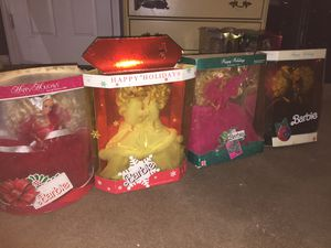 Holiday Barbies Special editions for Sale in Sebastian, FL