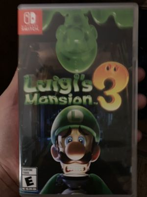 Luigi's Mansion 3 for Switch for Sale in Downey, CA