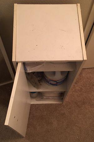 2 Shelf Cabinet with Door for Sale in Beaverton, OR