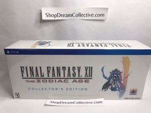 Final Fantasy XII Zodiac Age Collector's Edition for Sale in Germantown, MD