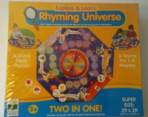 The Learning Journey Explore & Learn Rhyming Universe Floor Puzzle for Sale in Atlanta, GA