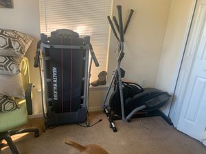 Exercise equipment elliptical is missing screen for Sale in Haines City, FL
