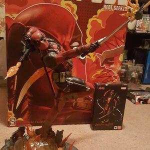 Sideshow Exclusive Deadpool Heatseeker Statue for Sale in St. Louis, MO
