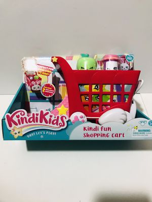 Kindi Kids Kindi Fun Shopping Cart Box Shopkins for Sale in San Antonio, TX