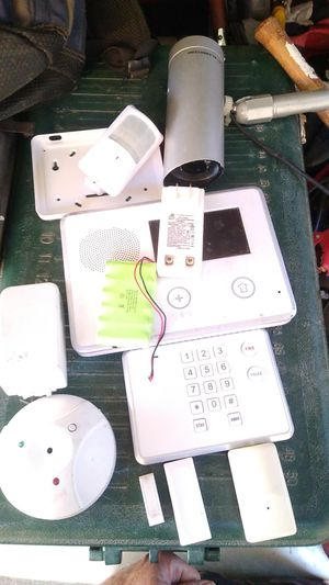 2gig go control home security equipment. Secondary panels, sensors, motions, cameras, DC adapter/ transformers, Parts, knowledge, experience! for Sale in Las Vegas, NV