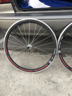 FOR SALE OR TRADE BICYCLE RIMS 3T ACCLERO TEAM 40 for Sale in Menlo Park, CA
