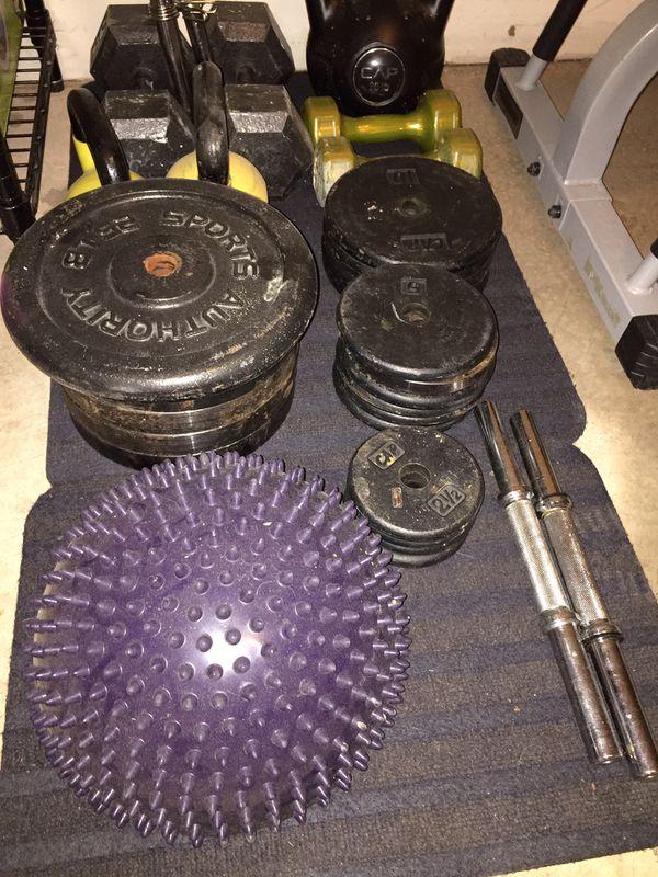 Weight + bench