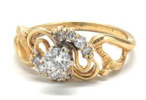 Ladies Diamond/14K Gold Engagement Ring for Sale in Norfolk, VA