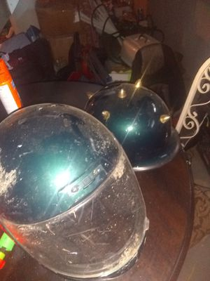 2 used motorcycle helmets for Sale in WARRENSVL HTS, OH
