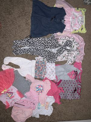 Baby girl clothes size 6months for Sale in Dallas, TX