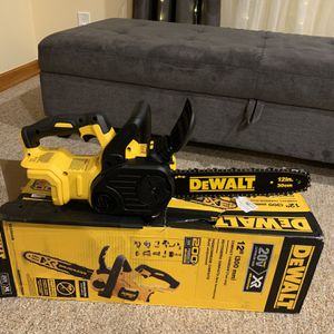 12 in. 20V XR MAX Lithium-Ion Cordless Brushless Chainsaw (Tool Only) for Sale in Passaic, NJ