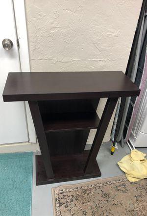 Espresso dark brown shelf for Sale in St. Petersburg, FL