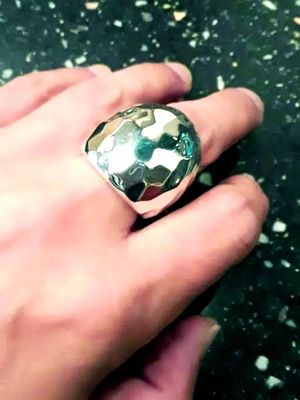 Used, Robert Lee Morris White Bronze Ring for Sale for sale  Jersey City, NJ