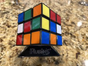 Rubiks Cube & Stand - Great Condition for Sale in Boca Raton, FL