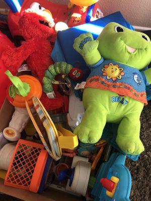 Box full of boy/neutral gender toys for Sale in Littleton, CO