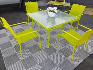 Green Patio table for Sale in Fresno, CA