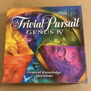 TRIVIAL PURSUIT GENUS IV for Sale in Puyallup, WA