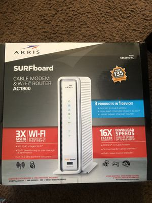 WIFI Router and Cable Modem for Sale in Columbus, OH