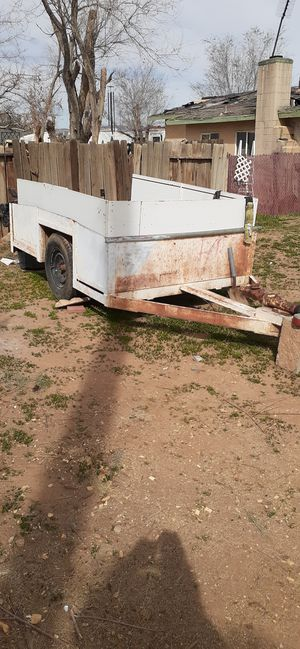 Trailer heavy axle turn RV very heavy very strong with weighted tires for Sale in Victorville, CA