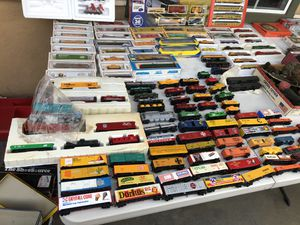 Train collection vintage mod ho scale lot must sell for Sale in El Monte, CA