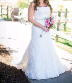Wedding dress - size 10 for Sale in Meridian, ID