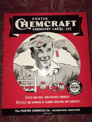 Vintage chemistry lab set/ glassware . for Sale in Henderson, NV