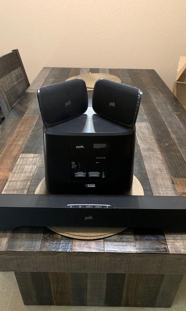 Polk Audio 5.1 Dolby Digital Wireless Surround System