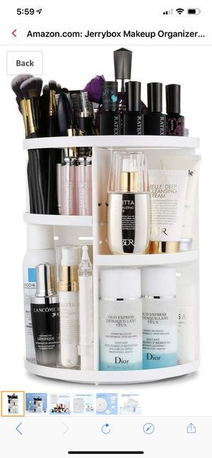 Makeup Organizer, 360 Degree Rotating Vanity Organizer and Cosmetic Storage Display Box, for Sale in Brooklyn, NY