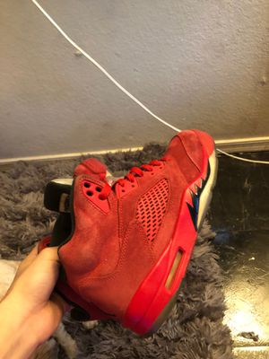 Red suede 5s for Sale in Avondale, AZ