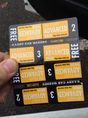 Kaddish car was vouchers for Sale in Vancouver, WA