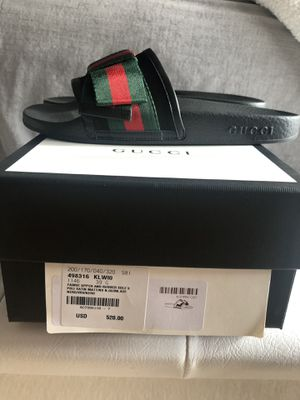 Gucci Satin Bow Slides- Women's Size 39 (US 9) for Sale in Silver Spring, MD
